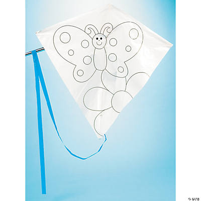 Color Your Own Summer Kites