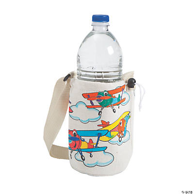 Color Your Own Up & Away Water Bottle Holders