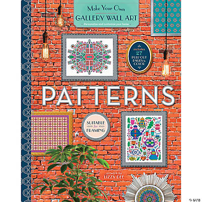 Color Your Own Wall Art Patterns Oriental Trading