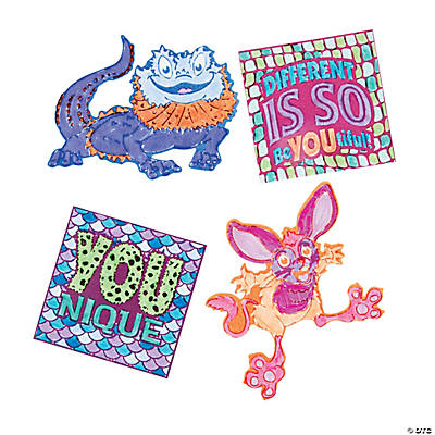 Color Your Own Wild Wonders VBS Fuzzy Magnets