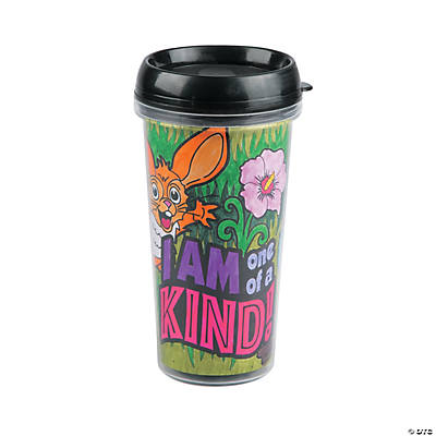 Color Your Own Wild Wonders VBS Travel Mugs