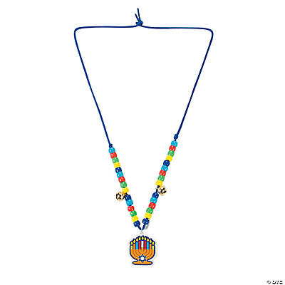 Colorful Hanukkah Necklace Craft Kit