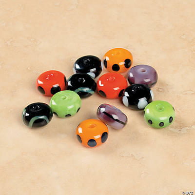 Colorful Spacer Beads - 9mm