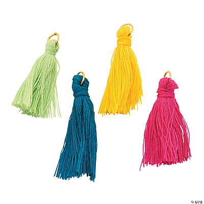 Colorful Tassel Charms