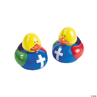 Colors of Faith Rubber Duckies