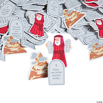 10 Commandments Foam Shapes