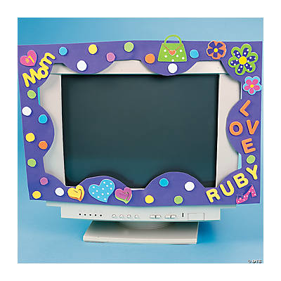 Computer Screen Frame Craft Idea