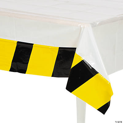 Construction Tablecloth