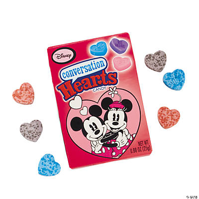Conversation Hearts Mickey & Minnie Valentine Candy