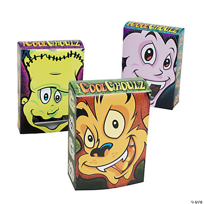 """Cool Ghoulz"" Treat Boxes with Window"