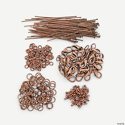 Copper-tone Findings Assortment