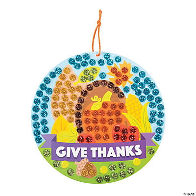 Cornucopia Glitter Mosaic Craft Kit