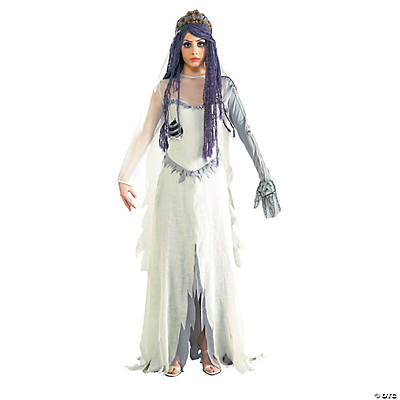 Corpse bride adult women s costume oriental trading for Corpse bride wedding dress for sale