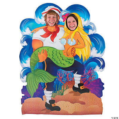 Couples Under the Sea Photo Cardboard Stand-Up