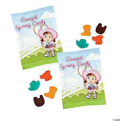 Cowgirl Gummy Fun Packs