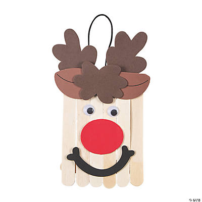 Craft Stick Reindeer Banner Craft Kit