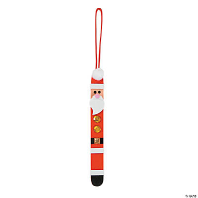 Craft Stick Santa Christmas Ornament Craft Kit