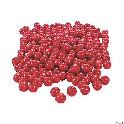 Cranberries vase filler oriental trading discontinued for Artificial cranberries for decoration