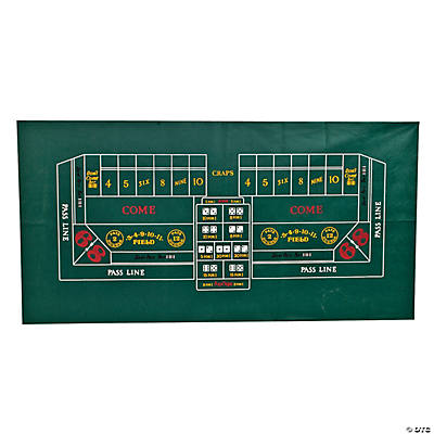 Craps Tablecloth