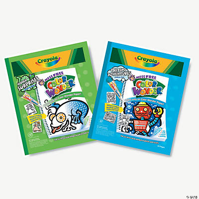 Crayola color wonder coloring book refill oriental for Crayola color wonder 30 page refill paper
