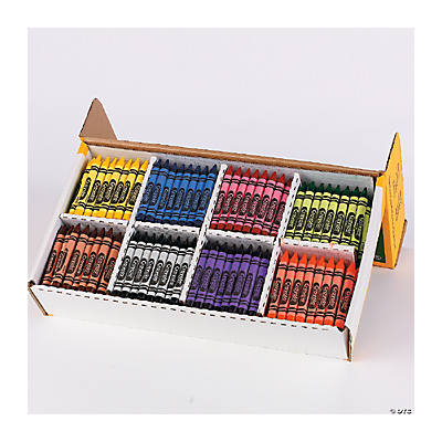 Crayola® 400 Pc. Large Size Crayons Classpack®