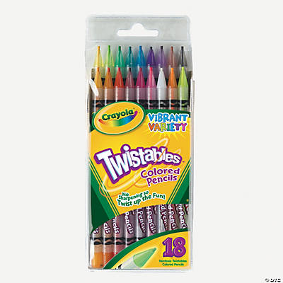 Crayola® Twistables Colored Pencils - 18 Count