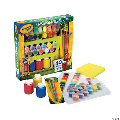 Crayola® Washable Paint Kit