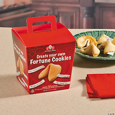 Create-Your-Own Fortune Cookies Kit