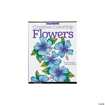Creative Coloring Book: Flowers