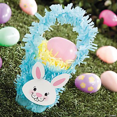 Paper fringe easter basket cup idea crepe paper fringe easter basket cup idea negle Images