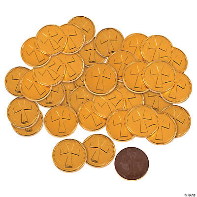Cross Coins Chocolate Candy