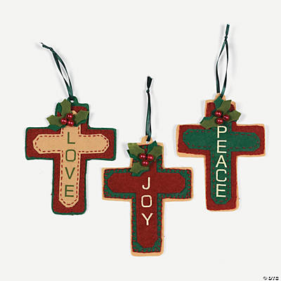 Cross Ornament Craft Kit - Oriental Trading - Discontinued