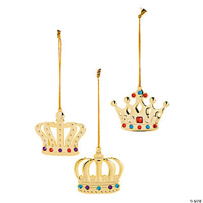 Crown Christmas Ornaments Oriental Trading Discontinued