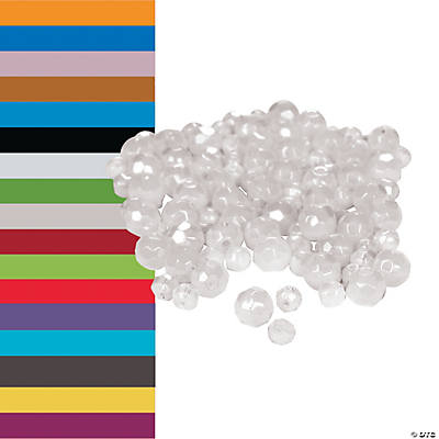 Crystal Round Beads 4-6mm