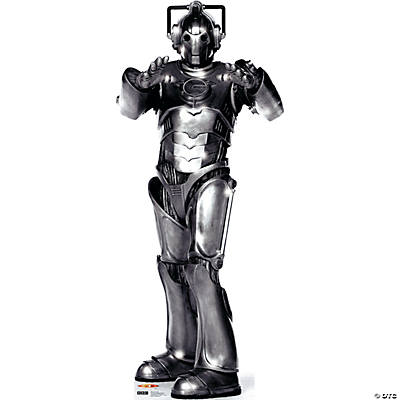 Cyberman Cardboard Stand-Up