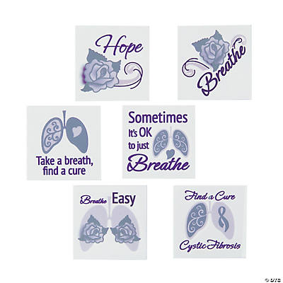 cystic fibrosis awareness tattoos. Black Bedroom Furniture Sets. Home Design Ideas