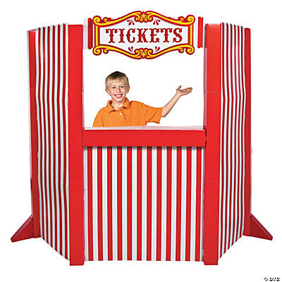 3D Carnival Ticket Booth