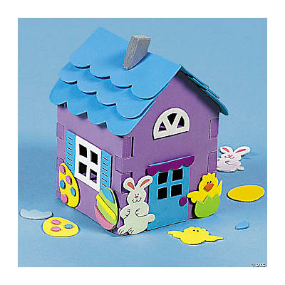 3D Easter House Craft Kit