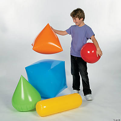 3D Inflatable Shape Set