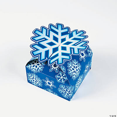 3D Snowflake Gift Boxes