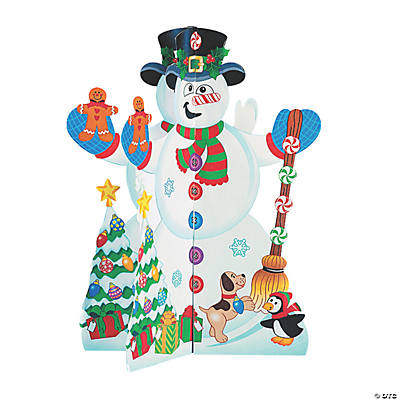 3D Snowmen And Stickers