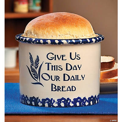 """Daily Bread"" Crock"