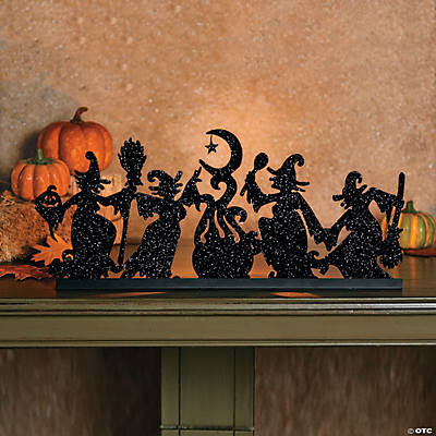 Dancing Witches Tea Light Holder