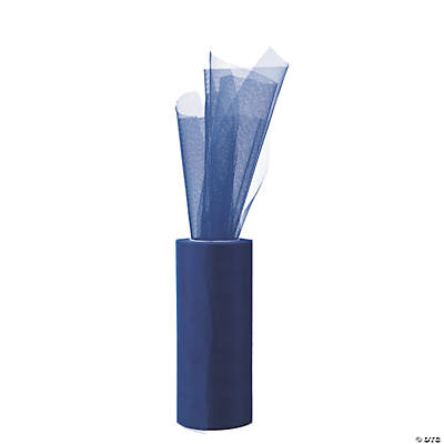Dark Blue Large Tulle Roll