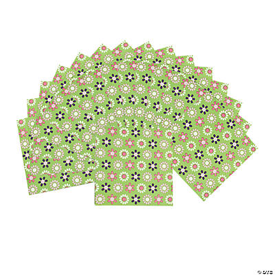 Darling Daisy Beverage Napkins