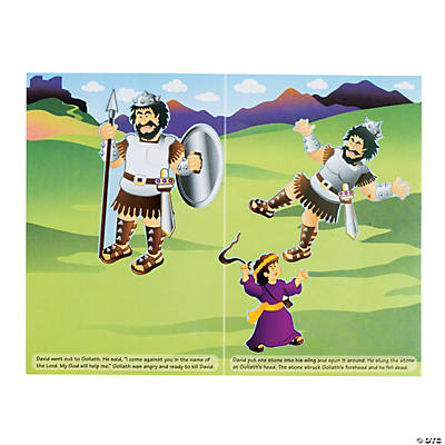 David & Goliath Sticker Scenes