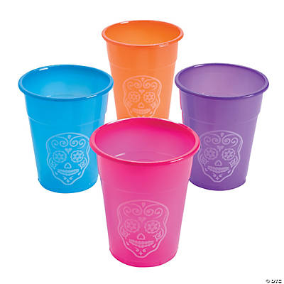 Day of the Dead Disposable Cups