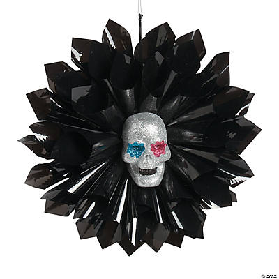 Day of the Dead Hanging Fan Decoration