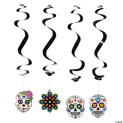 Day of the Dead Swirls