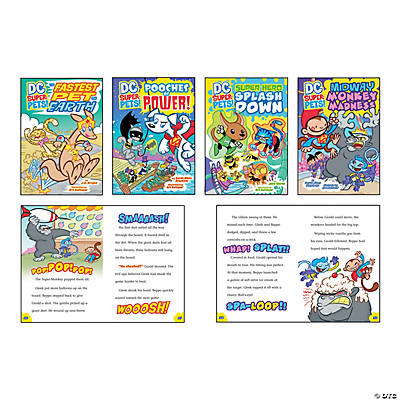 DC Super Pet Booklets